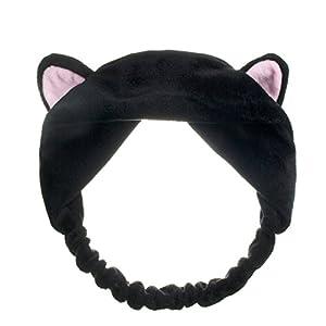 Bluelans Lovely Cat's Ear Hair Band Headband for Women Wash Face Makeup Running Sport