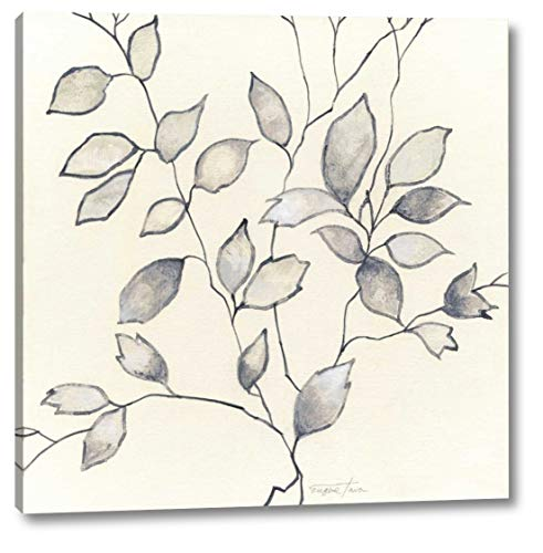 "Whispering Leaves I by Tava Studios - 33"" x 33"" Gallery Wrapped Giclee Canvas Print - Ready to Hang"