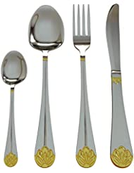 Silverware Set Limited Edition – 24 Piece Family Dinnerware Set – Flatware Set for 6 –