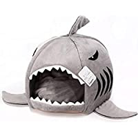 Tofree Shark Pet casa canile cuccia, 42* 42cm