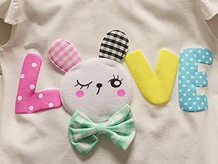 BibiCola Toddler Baby Girls Summer Clothes Cute Newborn Outfits Sleeveless Top+Short Pants 2pcs Set