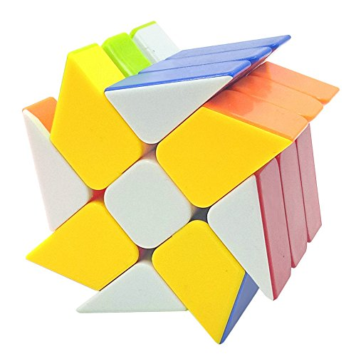 Type Cube Puzzle (Magic Cube 2x2x3 Profiled Classic Speed Magic Puzzle Cube Hot Wheel Square King Cube Cubos Magicos Learning Kids Toys by RexRod)