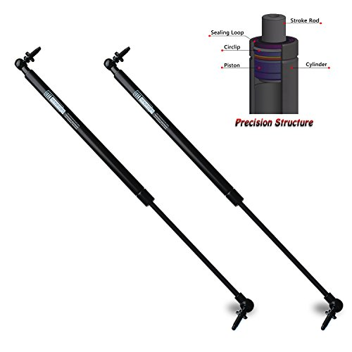- Beneges 2PCs Liftgate Lift Shocks Compatible with 2005-2008 Jeep Grand Cherokee Tailgate Gas Spring Charged Lift Struts Supports Dampers 55394322AA, SG314044, 6104