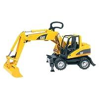 Bruder 02446 Excavadora de ruedas pequeñas Cat
