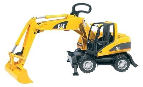 Y Juegos Bruder ToysAmazon Caterpillar Excavator esJuguetes Small By roWdxBCe