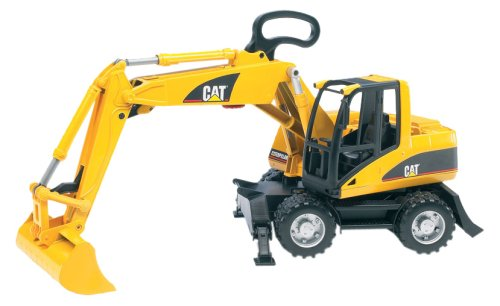 Bruder 02446 Cat Small Wheel Excavator