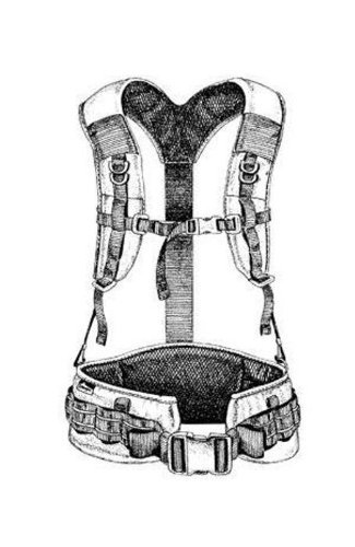 Lowepro Large Street and Field Shoulder Harness (Black)