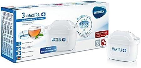 Pack 3 Cartucce per caraffe filtranti BRITA filtri MAXTRA 3 x 3 mesi di acqua