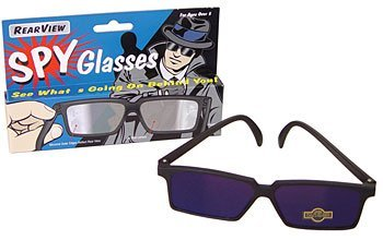 Rearview Spy Glasses Mirror Vision - See What's Behind - Sunglasses Kids View Rear