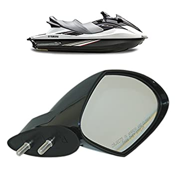 Motobiker Yamaha WaveRunner VX Mirror Right Hand Side RH Black VX110 Deluxe  Sport Cruiser,F1S-U596C-10-00