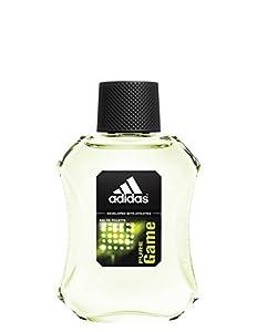 Adidas Eau de Toilette Spray for Men, Pure Game, 3.4 Fluid Ounce from Adidas
