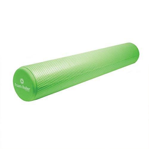 "Merrithew Stott Pilates Full Deluxe Foam Roller, Green, 36""/92cm"