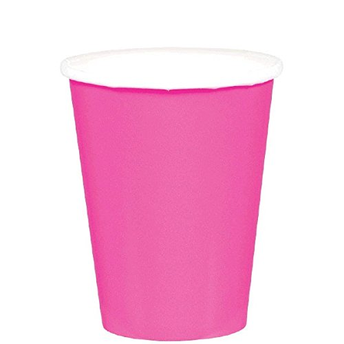 - Amscan Brigh Pink Paper Cups, 9 Oz., 20 Ct.