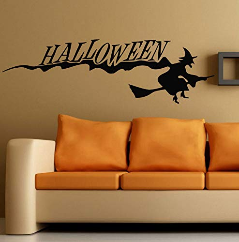 xbwy 2018 Happy Halloween Background Wall Sticker Window Home Decoration Decal Decor Halloween Decorations for Home