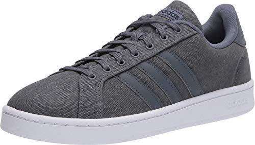 adidas mens Grand Court Sneaker, Onix/Onix/Legend Ink, 8 US