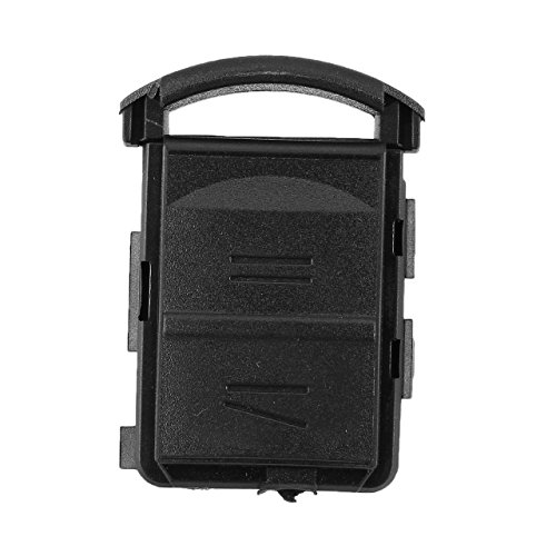 - shengerm 2 Button Without Blade Remote Car Key Case Shell Fob for Vauxhall Corsa Meriva Combo for Opel for Key Black
