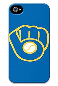 MLB Milwaukee Brewers iphone 4 case for men funny