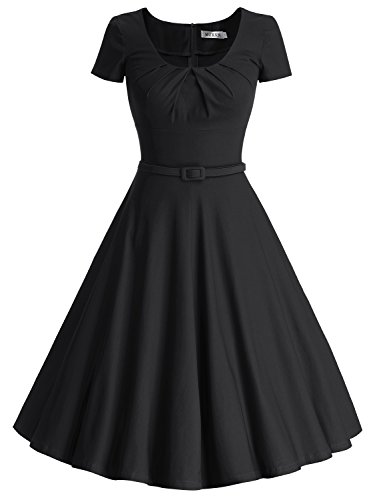 Muxxn Womens Vintage Pleated Cocktail Explained
