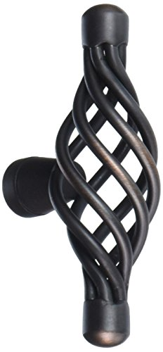 Amerock Village Classics Birdcage 2-5/8-Inch Maximum Width Oval Knob, Oil Rubbed Bronze #BP19321-ORB (Pack of 10) Antique Bronze Birdcage Knobs