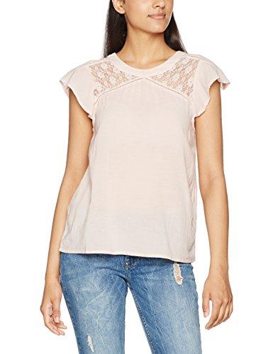 Vero Moda Vmpingo Capsleeve Top a, Camiseta para Mujer Rosa (Peach Whip)