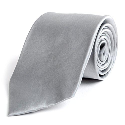 (Solid Silk Mens Plain Multi Color Tie)