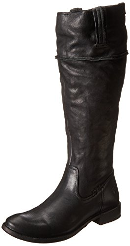 Tall Shirley Boot Black Artisan Frye Women's Riding 77743 w6tffq