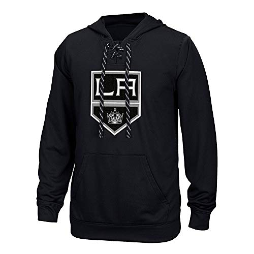 NHL Los Angeles Kings Adult Men Team Crest Performance Fleece Hockey ()