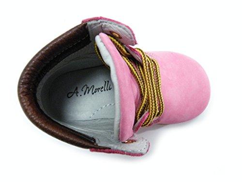 Andrea Morelli Scarponcino Primi Passi Rosa hembra Rosa Rosa