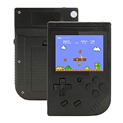 Retro Handheld Game Console for Boy Kids Adult,, Portable Handheld Game Console Built in 400 Mini Video Games 3 Inches LCD Screen Rechargeable Battery Support TV,Present: Toys & Games