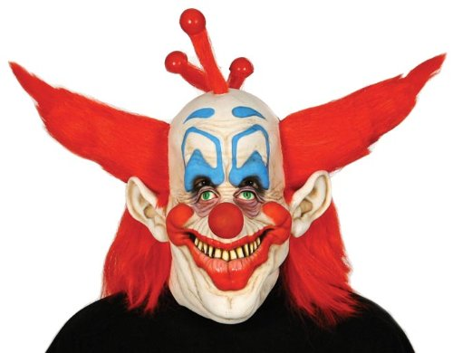 Killer Klown Costume (Paper Magic Men's Don Post Studios Killer Klowns Mask, Multi-Colored, One Size)