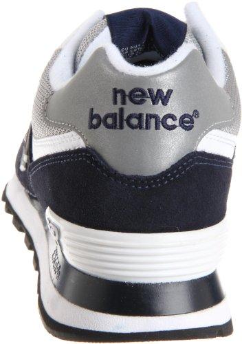 New da Uomo Navy Blu White Scarpe Balance Ginnastica Core 574 rqrYI