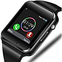 Aeifond Bluetooth Sports Fitness Tracker Smartwatch (Black)