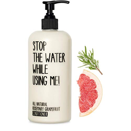 STOP THE WATER WHILE USING ME! All Natural Conditioner: Rosemary Grapefruit Repairing & Moisturizing Conditioner, Provides Deep Condition and a Healthy Shine, Paraben & Cruelty Free, 6.7oz