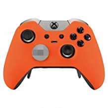 """""""Soft Touch Orange"""" Xbox One ELITE Rapid Fire Modded Controller 40 Mods for COD BO3, Destiny, GOW 4 Quickscope, Jitter, Drop Shot, Auto Aim, Jump Shot, Auto Sprint, Fast Reload and Much More"""