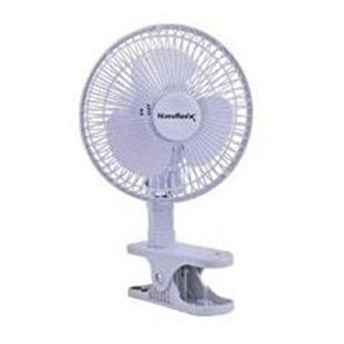 HOMEBASIX F-0645 Personal/Table Clip-On Fan, 6-Inch