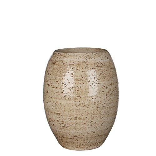 Mica decorations 143926 Vase, Vera, beige