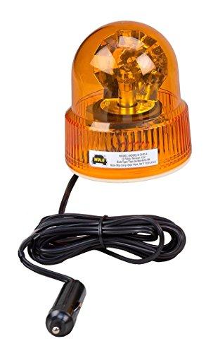 Wolo (3100-A) Beacon Light Rotating Emergency Warning Light - 12 Volt, Amber Lens