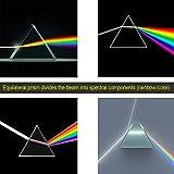 "IFOLAINA Prism 6"" inch Light Optical Glass"