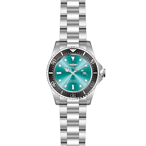 Invicta 22056 Gent's Green Dial Steel Bracelet Quartz Dive Watch