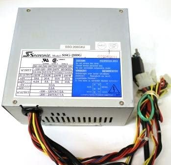 Seasonic SSG-200G Powersupply AT 200W A21Z A24Z