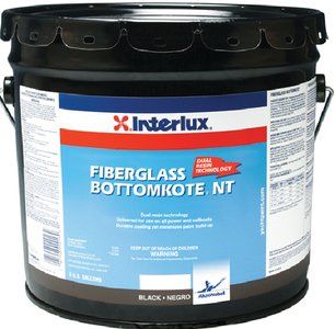 Interlux YBB379/1 Fiberglass Bottomkote NT Antifouling Paint - Black, Gallon by Interlux