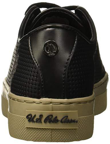 Baskets Nero Femme Violet Assn black polo s U Blk a1xY6IK