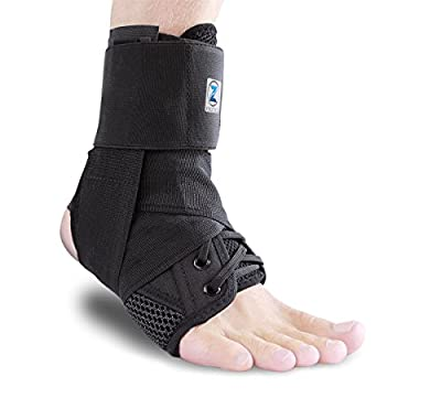 Zenith Ankle Brace, Lace Up Adjustable Support – For Running, Basketball, Injury Recovery, Sprains! Ankle Wrap for Men, Women, and Children…