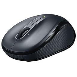 Logitech 910-002974 M325 Wireless Mouse for Web Scrolling - Black