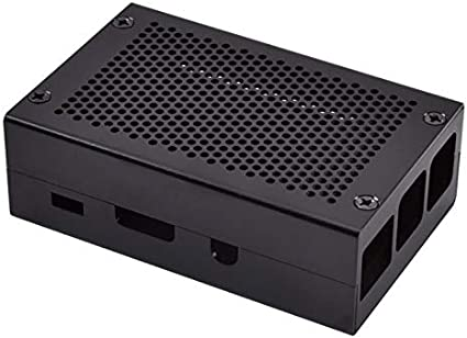 Goldyqin para Raspberry Pi 3 Modelo B + Caja de Aluminio Caja ...