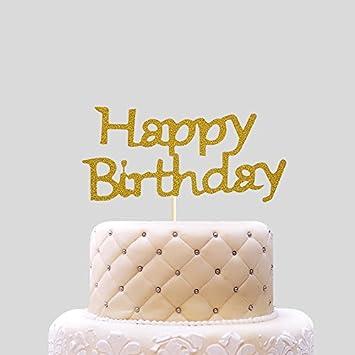 Happy Birthday Cake Card Stecker Fur Kosmetische Unlicensed Die Gebackenen Kuchen Schon Dekoriert 6