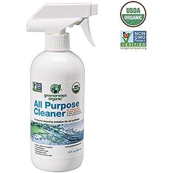 greenerways organic allpurpose cleaner natural usda organic nongmo