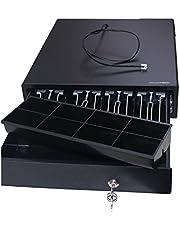 Owlotech ECD330C - Cajón portamonedas, Color Negro