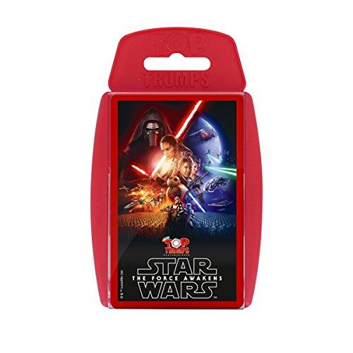 Top Trumps Card Game–Star Wars, The Force Awakens Italian Version ()