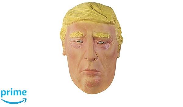 P tit payaso 20435 máscara adulto látex completo Donald Trump, talla única: Amazon.es: Juguetes y juegos